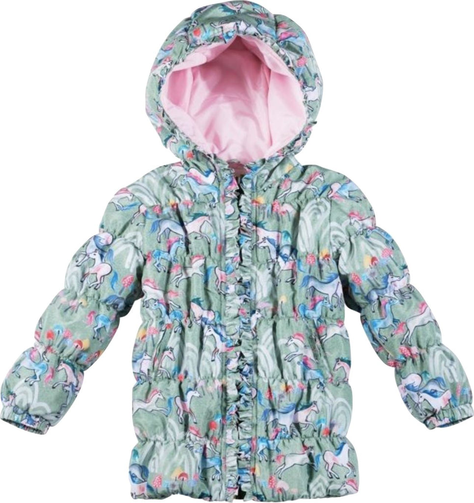 PAPER WINGS WILD HORSES PUFFER Jackets & Coats Paper Wings
