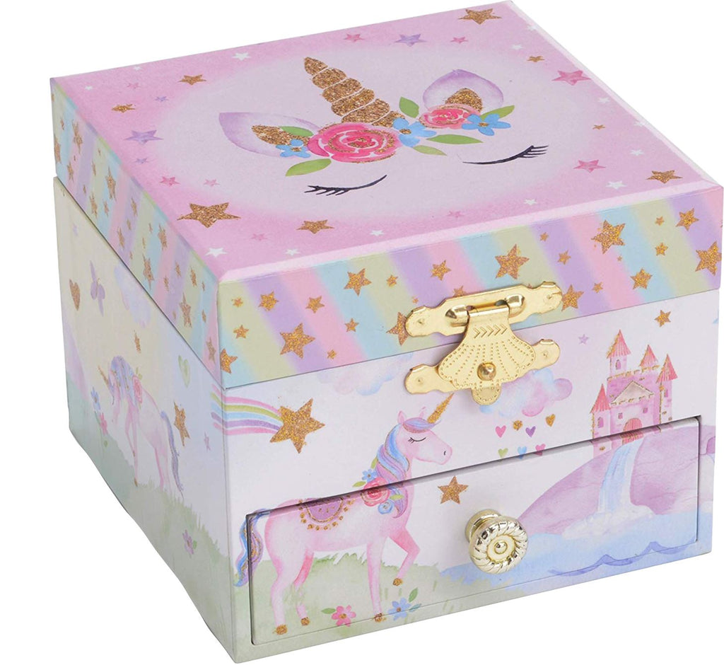 PARTY UNICORN MUSICAL JEWELRY BOX Toys Swoop