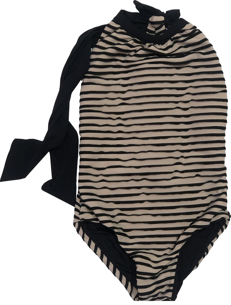 Planet Sea Textured One Piece Swim Planet Sea