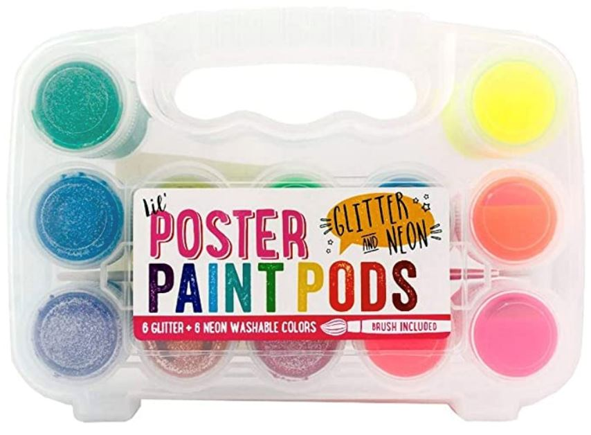 Poster Paint Pods Arts & Crafts Swoop Is Fun