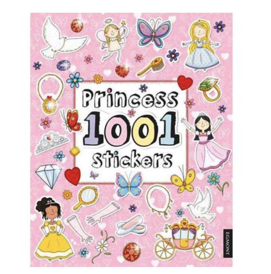 PRINCESS 1001 STICKERS Fun! Swoop Is Fun