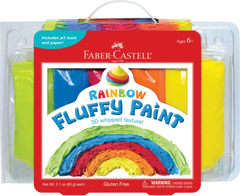 RAINBOW FLUFFY PAINT Fun! Swoop