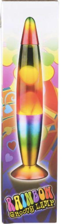 RAINBOW WAX MOTION LAMP Fun! Swoop Is Fun