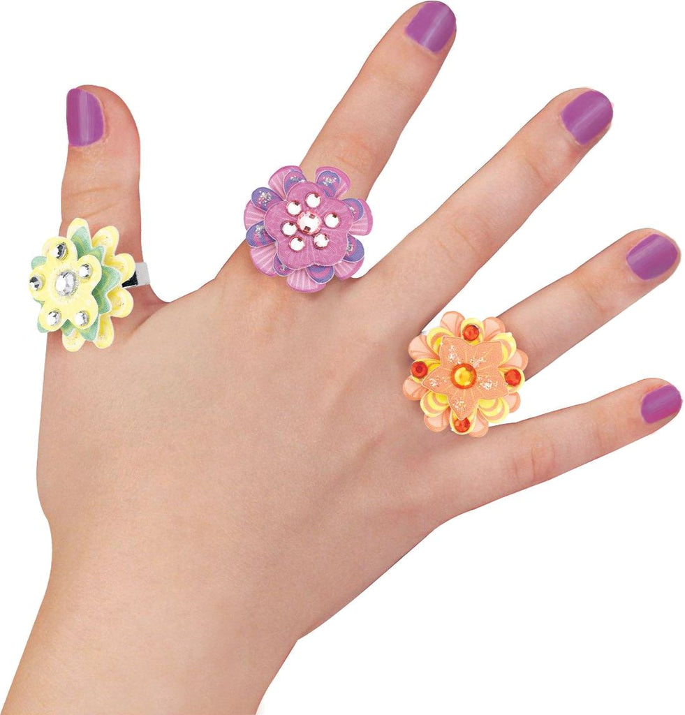 RHINESTONE RINGS KIT Fun! Swoop