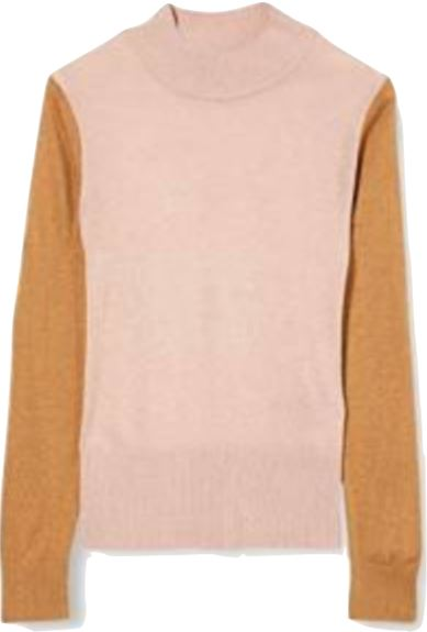 Scotch R' Belle Girls High Neck Colorblock Knit Sweater sweater Scotch R' Belle