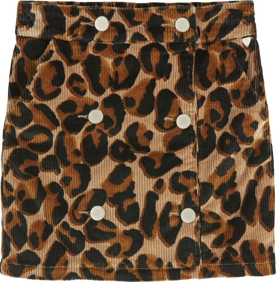 SCOTCH R'BELLE LEOPARD CORD SKIRT Skirt Scotch R'Belle