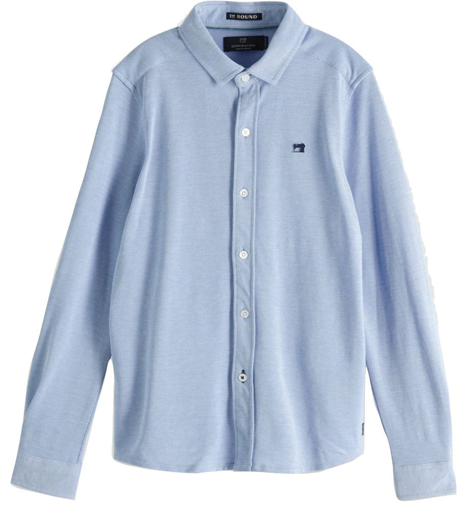SCOTCH SHRUNK BOYS PIQUE SHIRT Shirt Scotch Shrunk