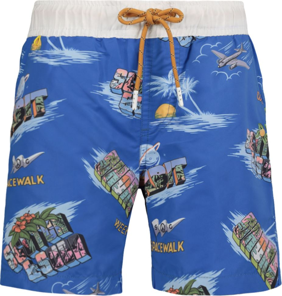 Scotch Shrunk Cosmos Board Shorts Swim Scotch & Soda