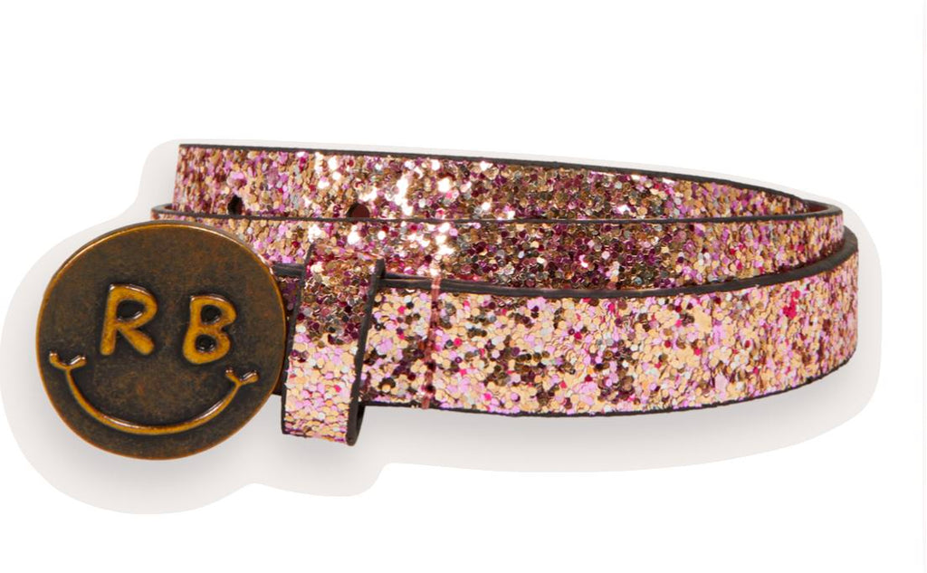 Scotch & Soda Girl's Glitter Belt Accessories Scotch & Soda