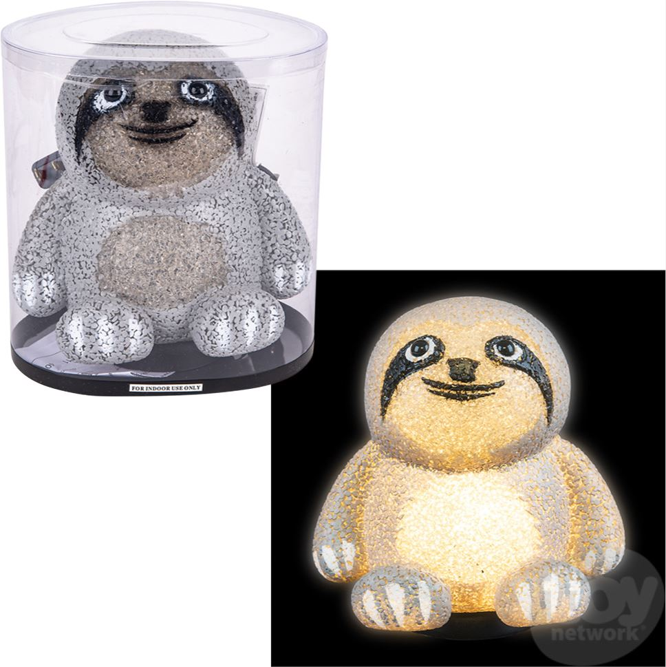 SLOTH SPARKLE LAMP Fun! Swoop