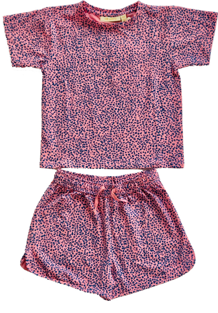 SOFT GALLERY LEOPARD PAJAMA SET PJ's Soft Gallery