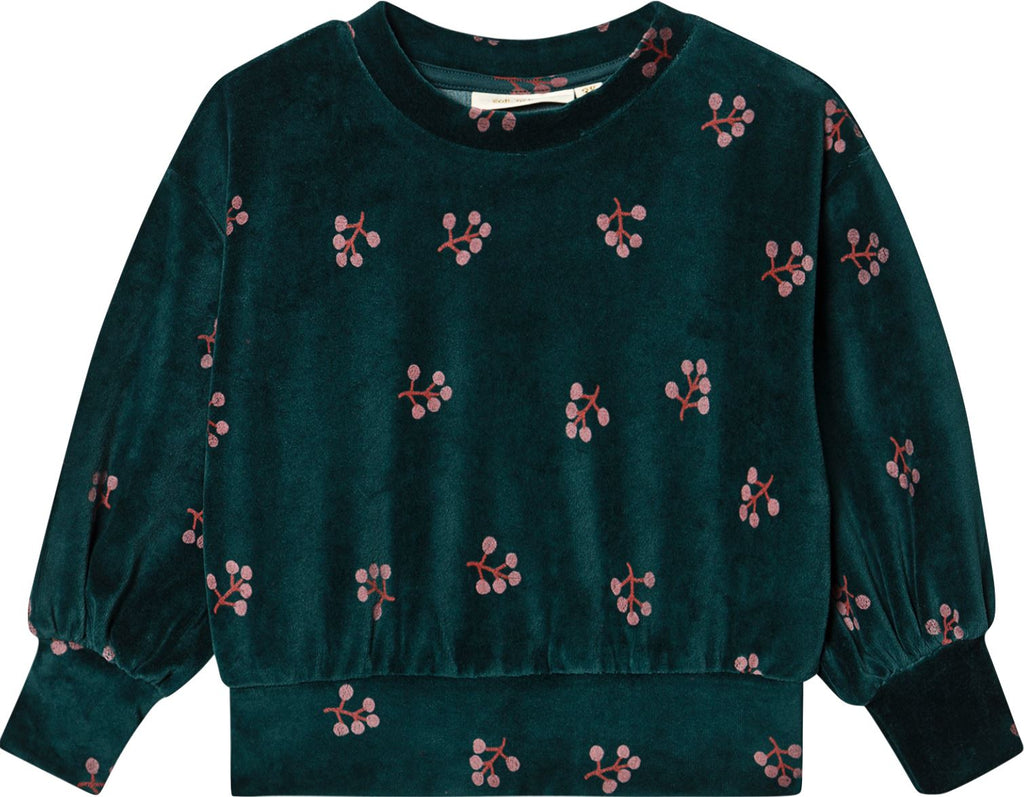 SOFT GALLERY TEAL SWEATSHIRT Tops Soft Gallery