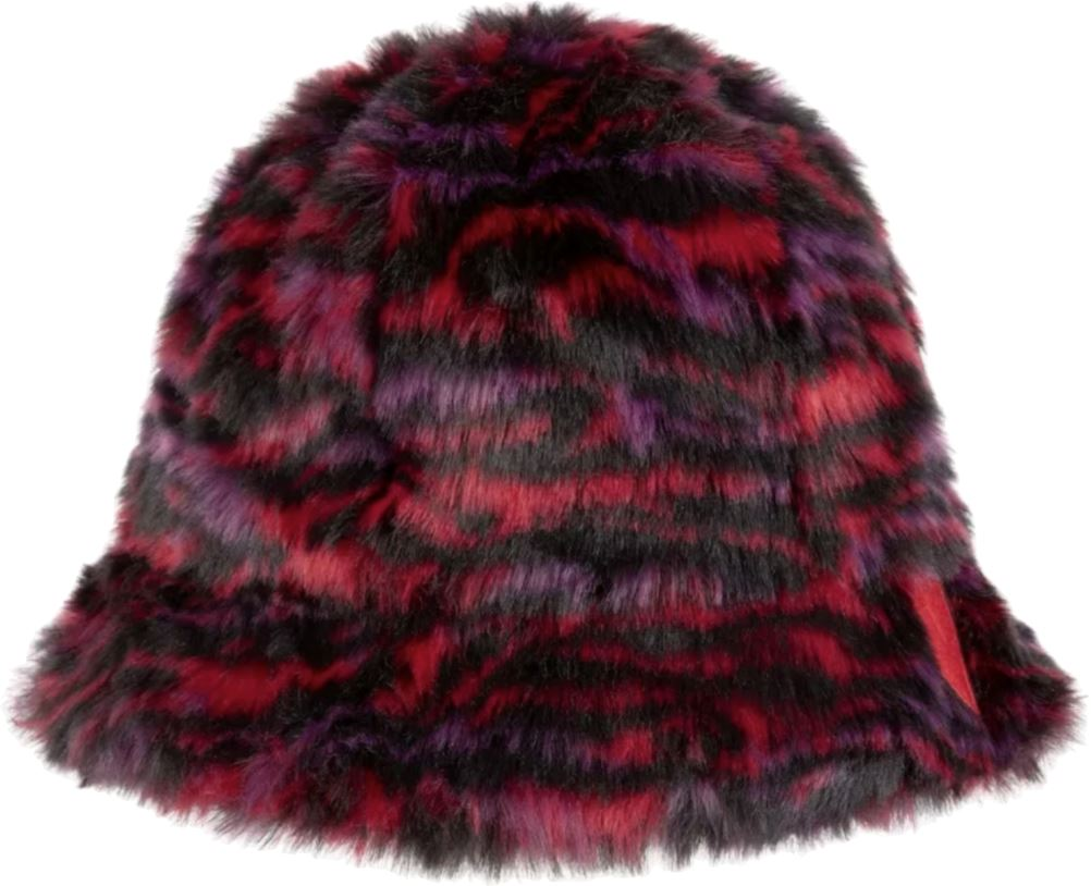 Sonia Rykiel Ibob Tiger Faux Fur Bucket Hat Accessories Sonia Rykiel