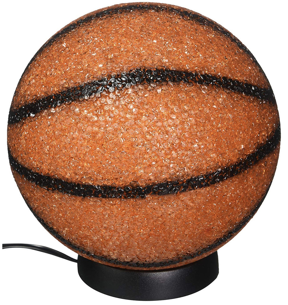"SPARKLE BASKETBALL LAMP 9"" Fun! swoop is fun"