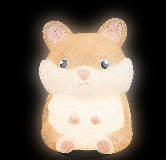 Sparkle Hamster Lamp Fun! Swoop Is Fun