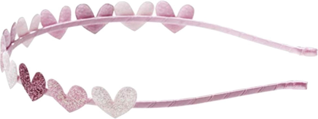 Sparkle Heart Headband Accessories Swoop