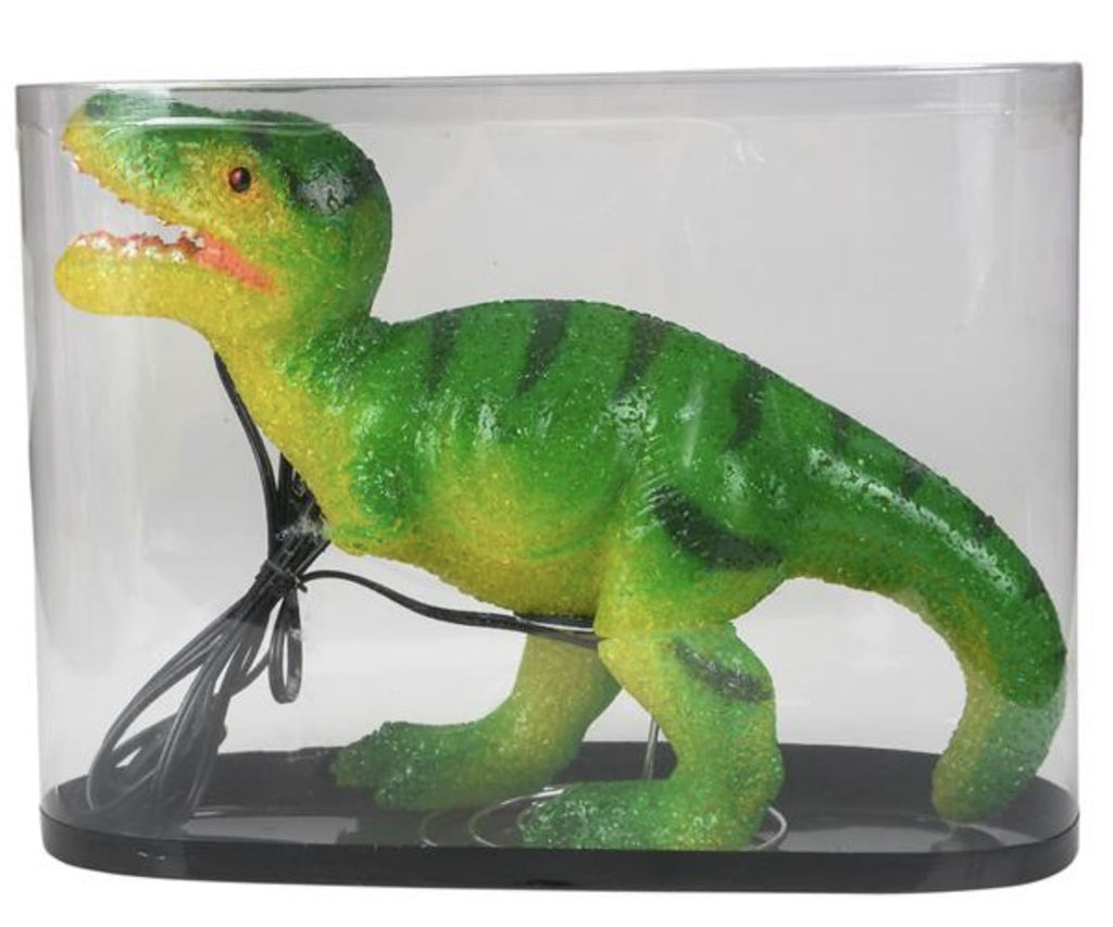 "SPARKLE T-REX LAMP 13"" Fun! swoop is fun"