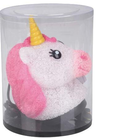 "SPARKLE UNICORN LAMP 8.5"" Fun! swoop is fun"