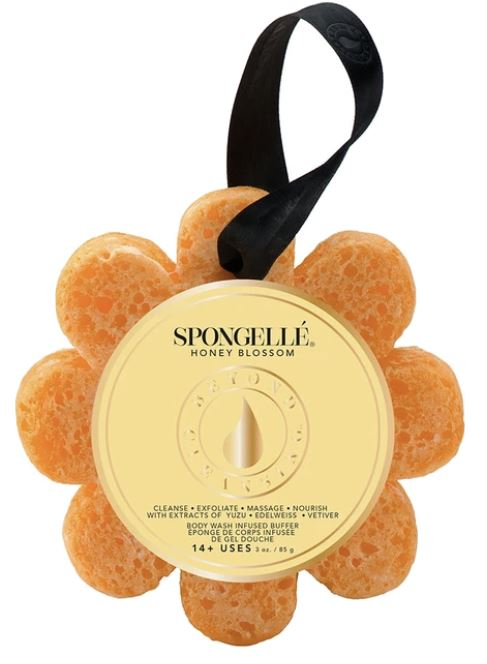Spongelle Flower Washes Fun! Spongelle Honey Blossom
