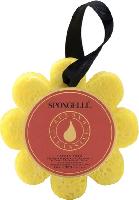 Spongelle Flower Washes Fun! Spongelle Papaya Yuzu