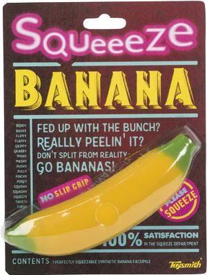 SQUEEZE BANANA Fun! Swoop