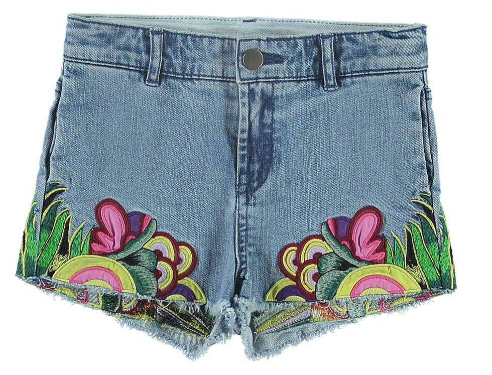 STELLA MCCARTNEY EMBROIDERED SHORTS Short Stella McCartney Kids