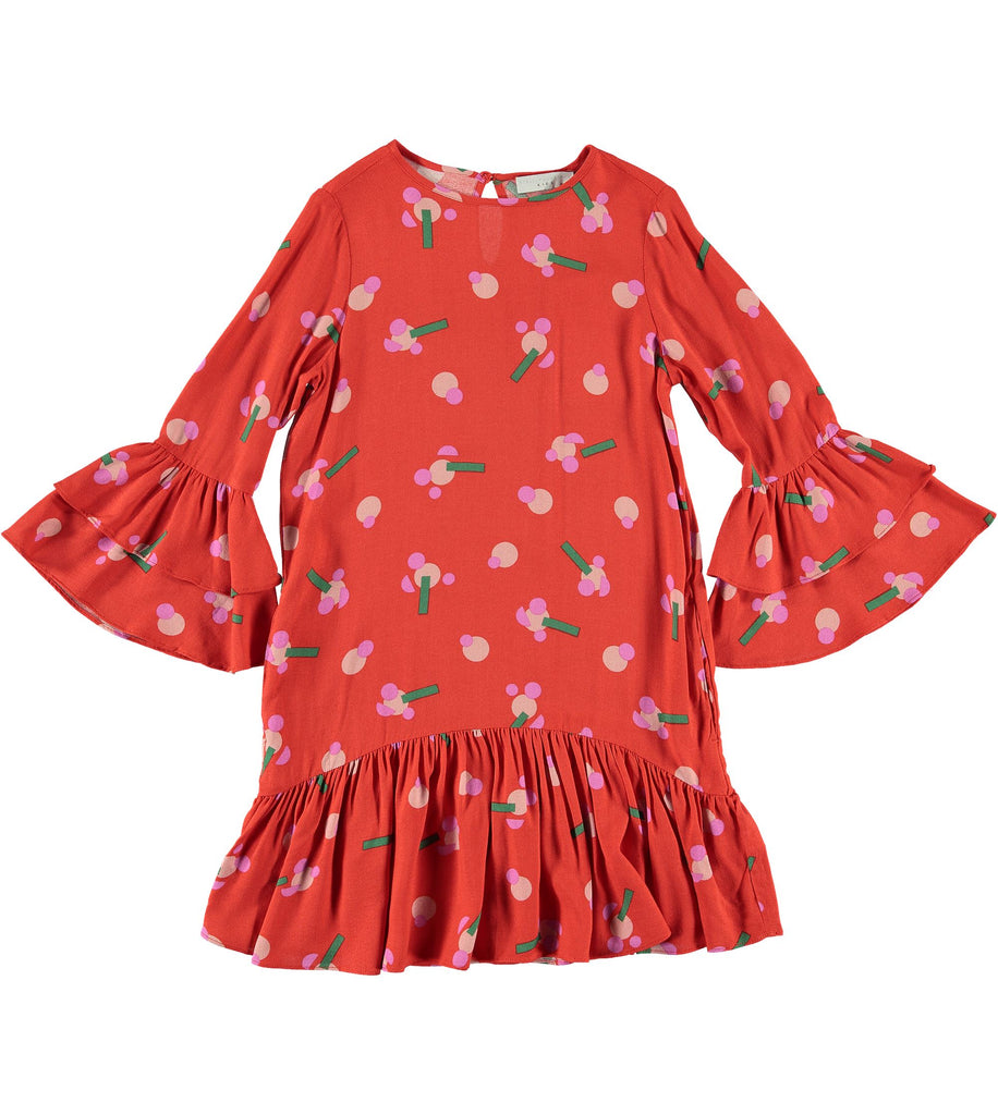 STELLA MCCARTNEY FLOWER VISCOSE DRESS Dress Stella McCartney Kids
