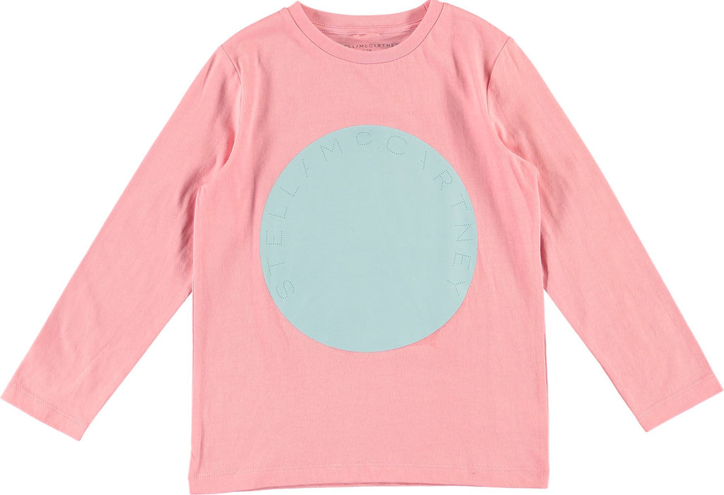 STELLA MCCARTNEY GIRLS LOGO TEE Tops Stella McCartney Kids