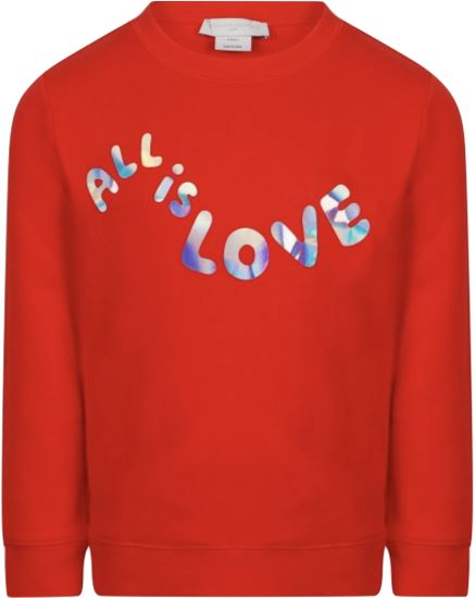 Stella McCartney Kids All Is Love Sweatshirt sweatshirt Stella McCartney Kids