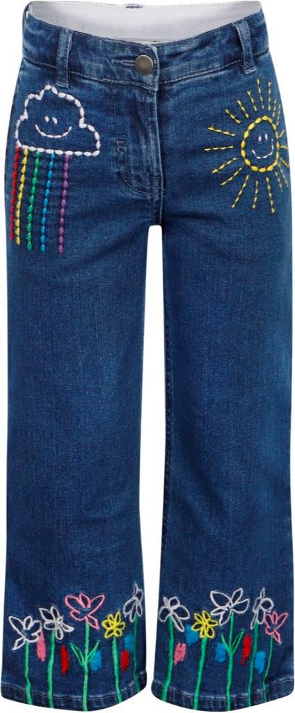 Stella McCartney Kids Embroidered Jean Trousers Jean Stella McCartney Kids