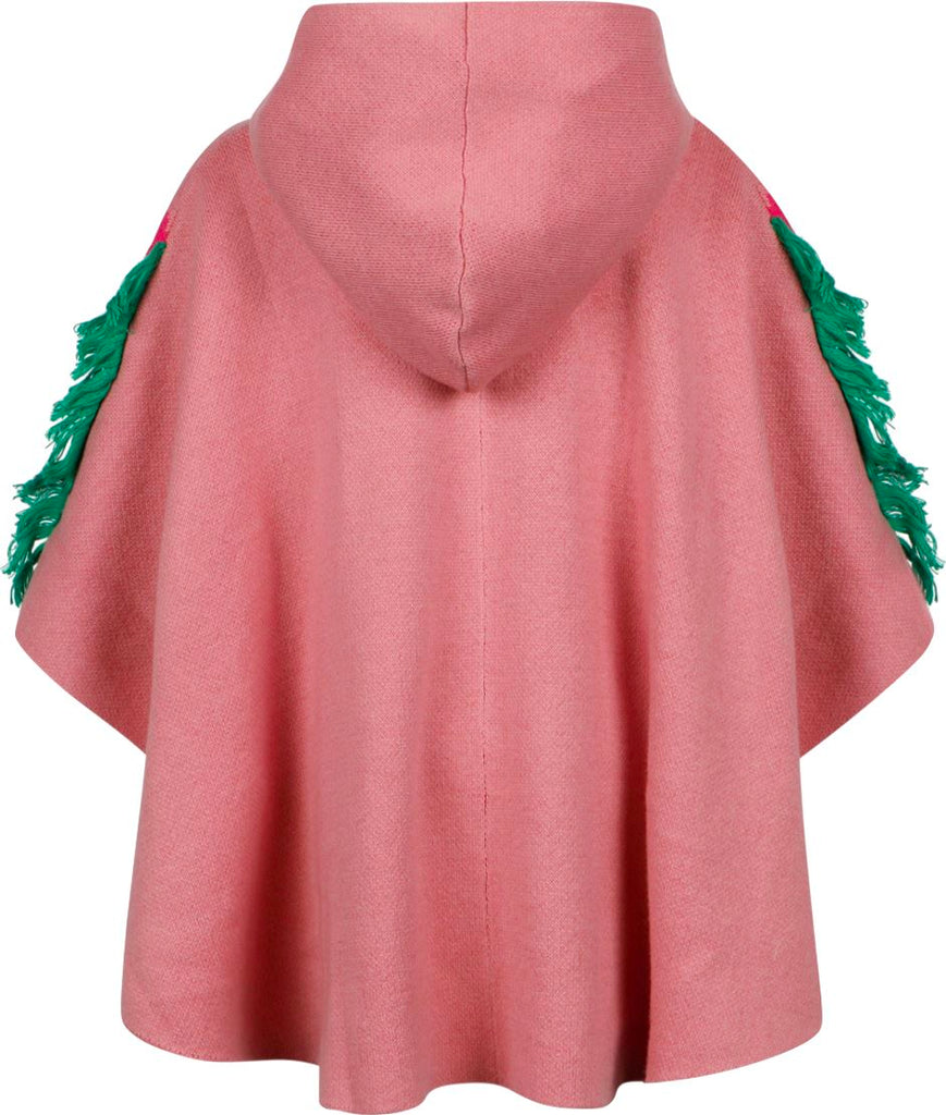 Stella McCartney Kids Horse Poncho Jackets & Coats Stella McCartney Kids
