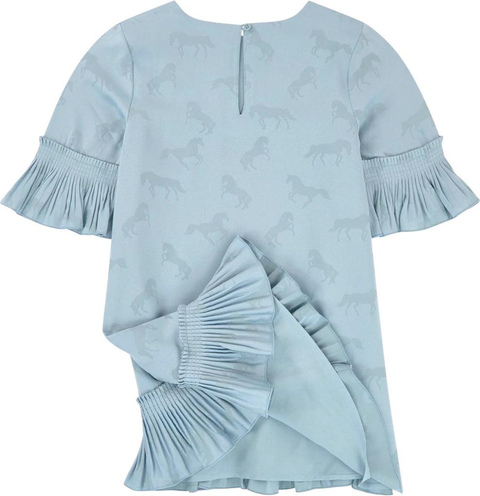 Stella McCartney Kids Jacquard Horses Dress Dress Stella McCartney Kids