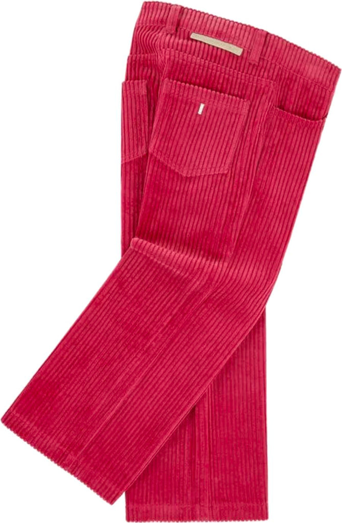 Stella McCartney Kids Red Jumbo Cord Trousers Pants Stella McCartney Kids