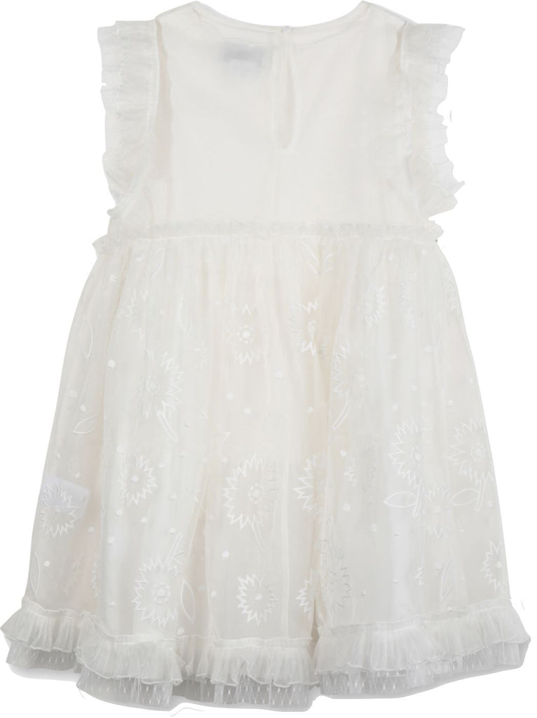 Stella McCartney Organza Flower Dress Dress Stella McCartney Kids