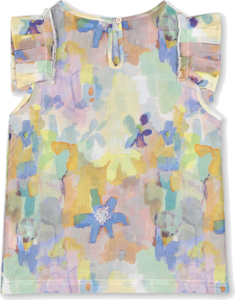 STELLA MCCARTNEY PAINT FLOWERS TOP Tops Stella McCartney Kids