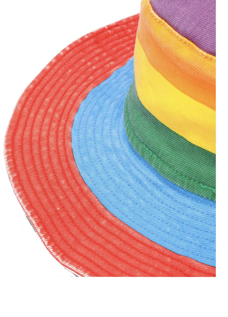 STELLA MCCARTNEY RAINBOW STRIPED HAT Accessories Stella McCartney Kids