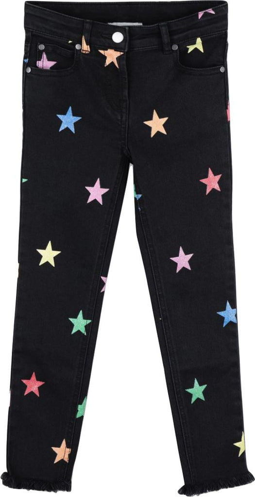 Stella McCartney Star Denim Jeans Pants Stella McCartney Kids