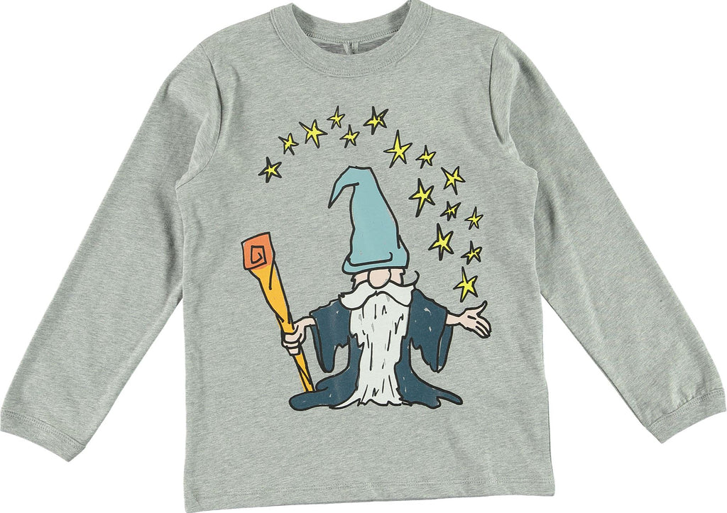 STELLA MCCARTRNEY LONG SLEEVE WIZARD TEE. Tops Stella McCartney Kids