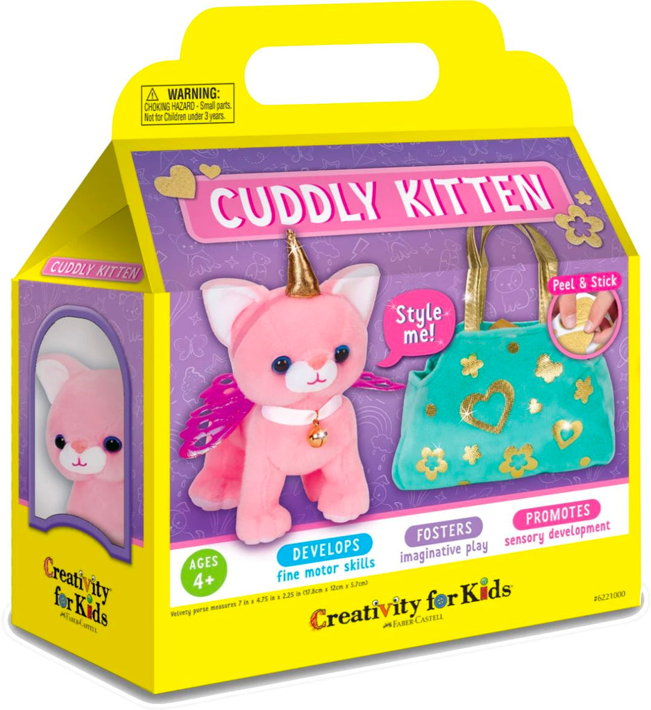 Style Me Cuddly Kitten Toys Faber Castell