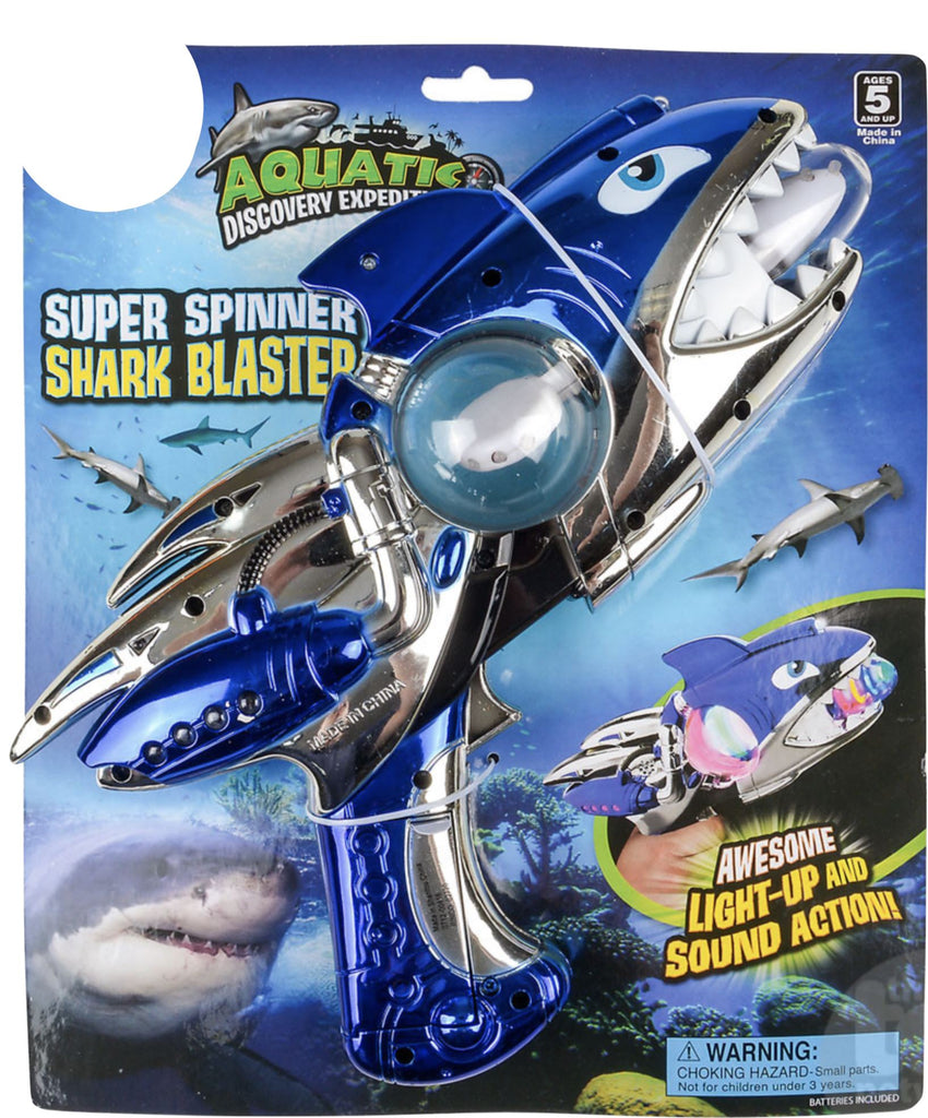 Super Spinner Shark Blaster Fun! Swoop