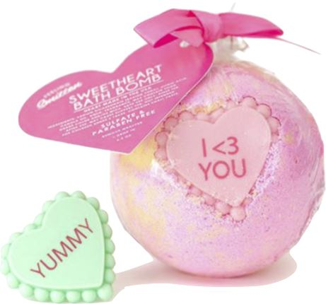 Sweetheart Bath Bomb Fun! ADD