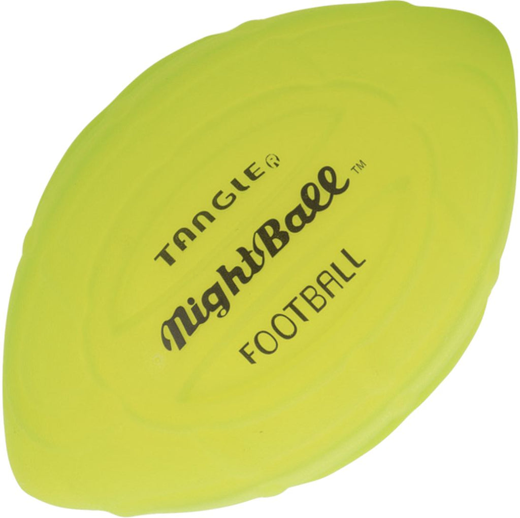 TANGLE NIGHT BALL FOOTBALL FUN Swoop Green