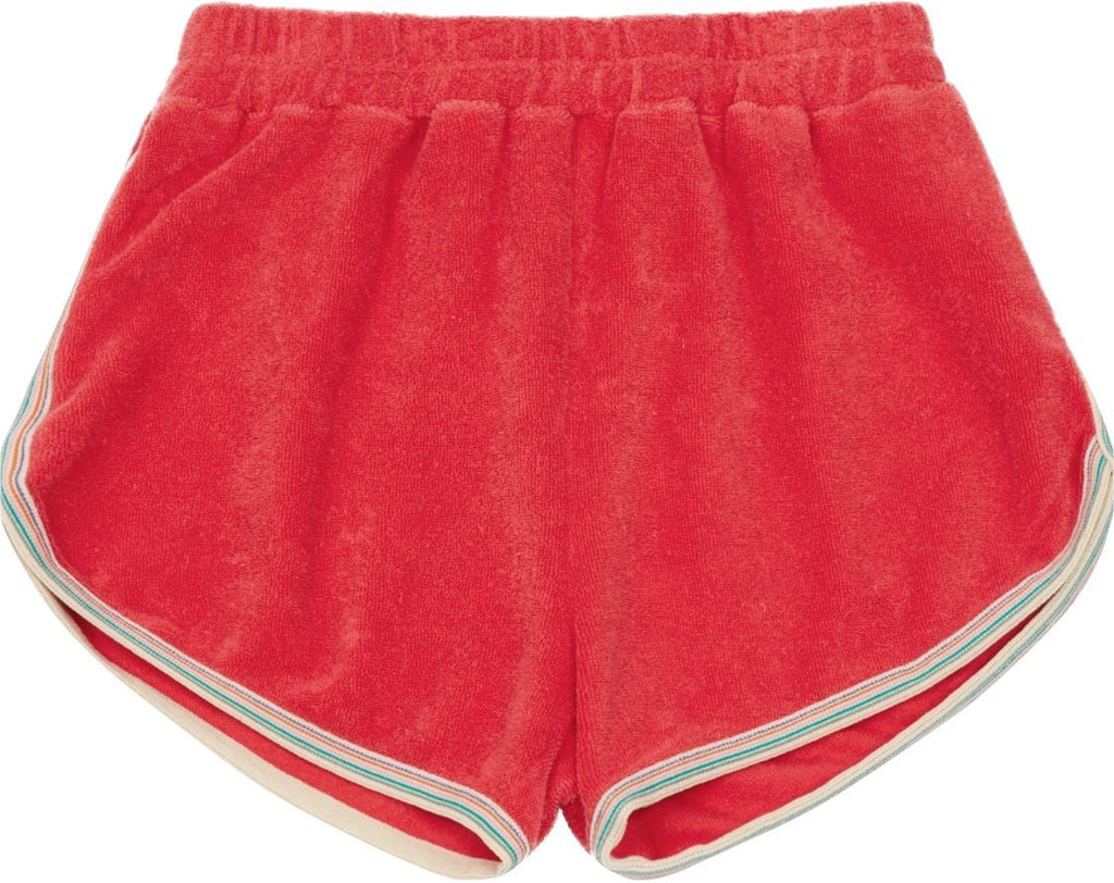 TERRY CLOTH POPPY SHORTS Shorts Hundred Pieces