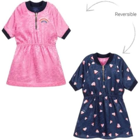 The Marc Jacobs Reversible Heart and Pink Dress Dress The Marc Jacobs