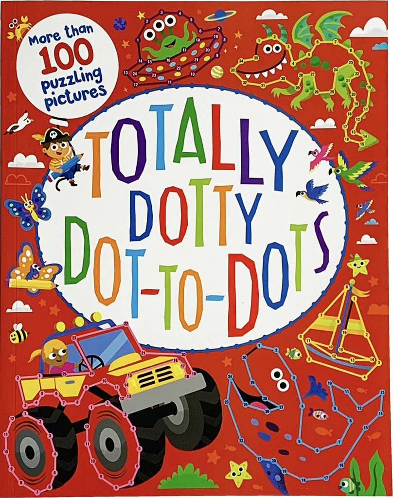 TOTALLY DOTTY DOT TO DOTS BOOK Fun! Swoop
