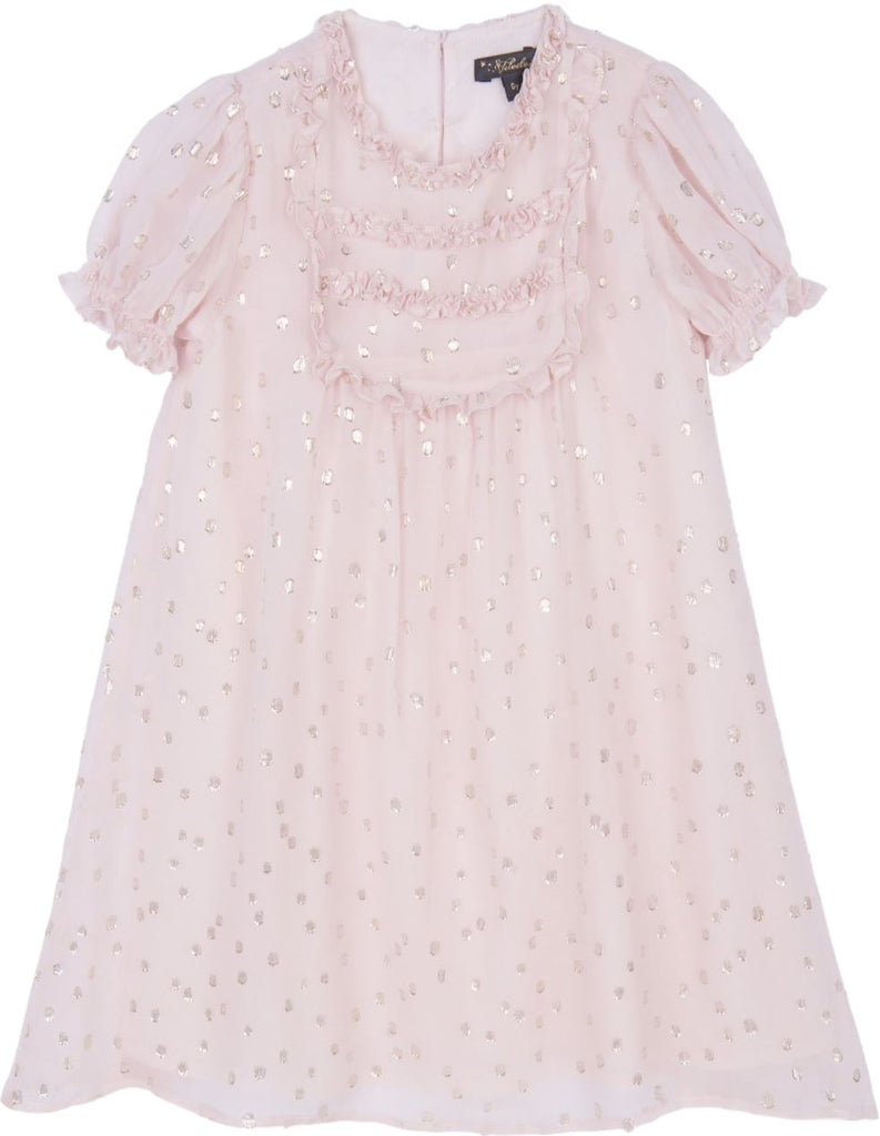 Velveteen Blush Party Dress Dress Velveteen