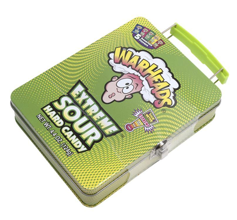 WARHEADS LUNCH TIN Fun! Swoop Is Fun