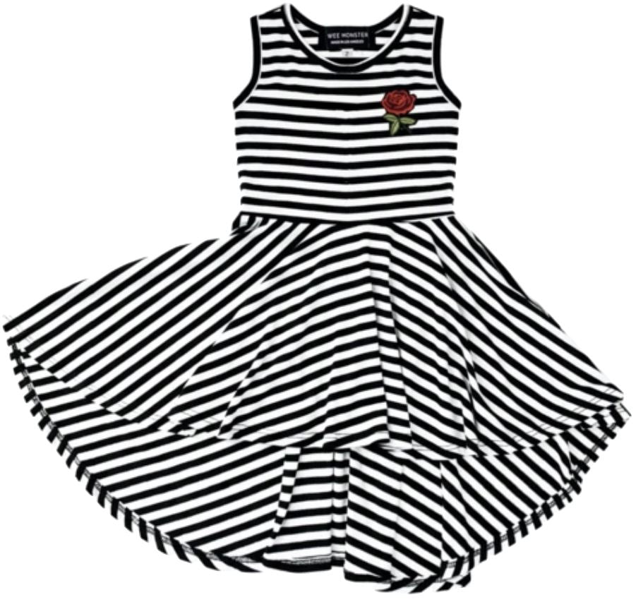 Wee Monster Black & White Dress Dress Wee Monster