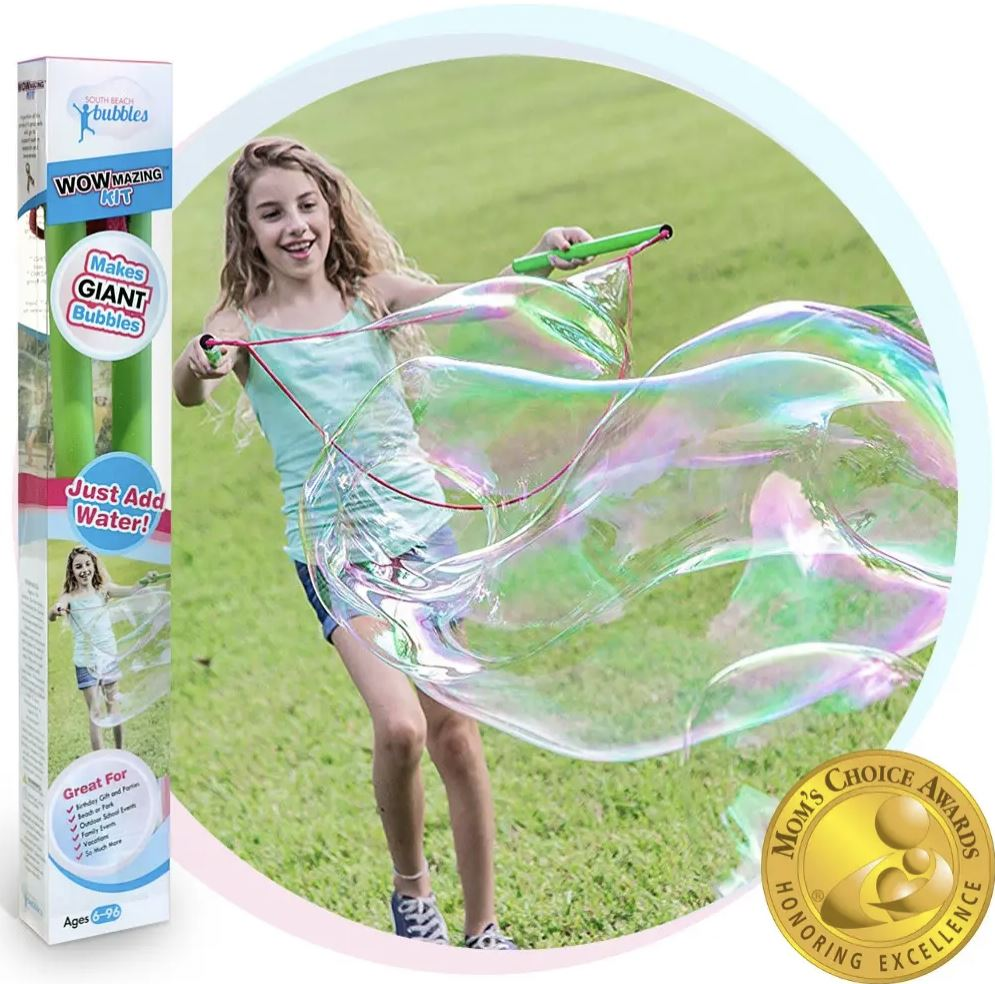 WOWmazing Giant Bubble Kit Fun! Swoop