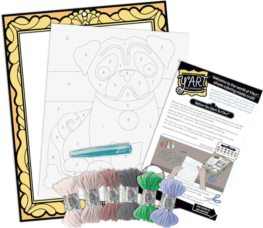 Y'ART CRAFT KIT PUPPY Fun! Swoop